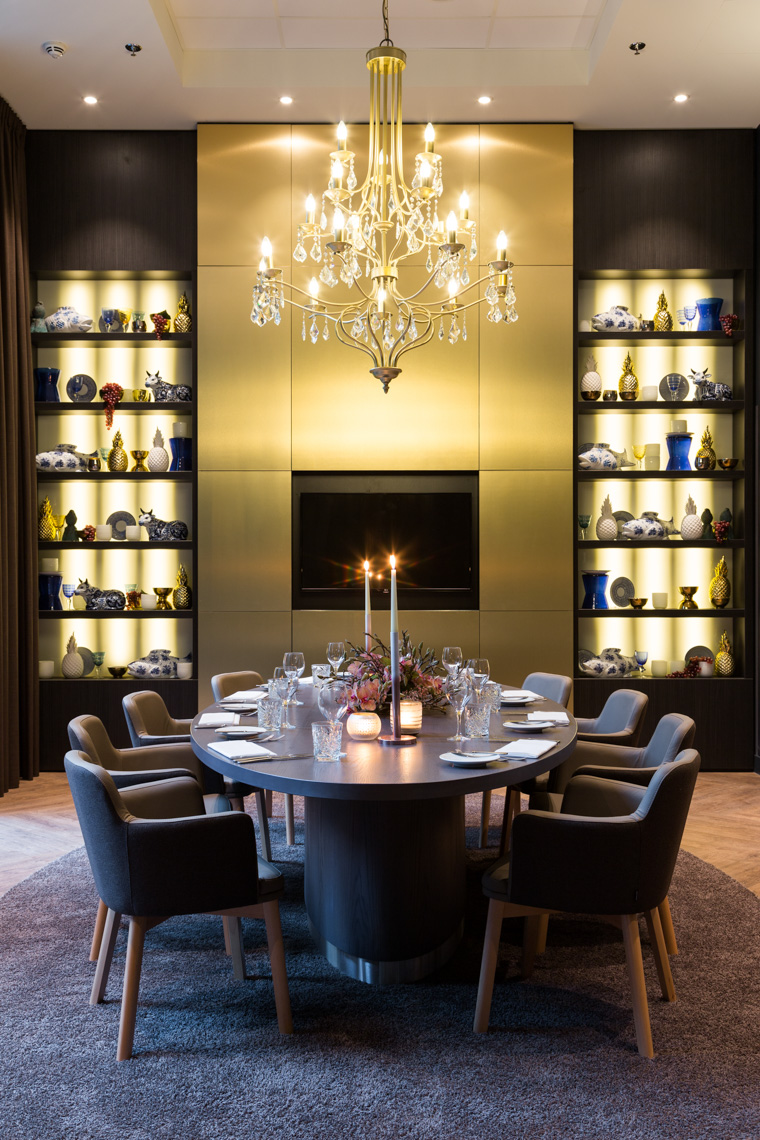 Hotel private dining, Amsterdam