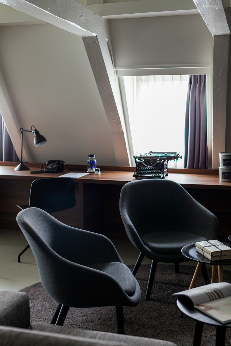 Hotel room in Amsterdam